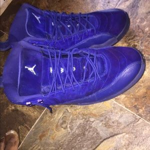 Jordan 12s royal blue